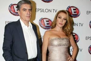 «Πάγωσαν» Τατιάνα Στεφανίδου και Νίκος Ευαγγελάτος - Σε κατάσταση αμόκ το ζευγάρι