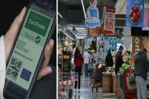 Σούπερ μάρκετ: Είσοδος μόνο με πιστοποιητικό εμβολιασμού! Το «πείραμα» της Κύπρου που θέλουν να φέρουν στην Ελλάδα