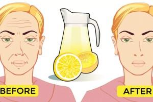 Φυσικό τονωτικό με λεμόνι που σφίγγει το δέρμα - Φτιάξτε το μόνες σας στο σπίτι!