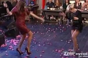 Αμαρτωλό τσιφτετέλι: Δύο κυρίες σηκώθηκαν στο πλατό του Σπύρου Παπαδόπουλου! Δευτερόλεπτα μετά, γκρεμίζουν τα πάντα!