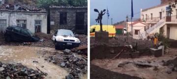 Απίστευτες καταστροφές στην Σαμοθράκη από την κακοκαιρία! (photos)