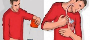 Ρίξε λίγη μαγειρική σόδα μέσα σε ένα ποτήρι νερό και πιες το. Αν ρευτείς μέσα στα επόμενα πέντε λεπτά αυτό σημαίνει ότι…!