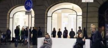 Τρελό γλέντι: Η Ηuawei μοιράζει φορητούς φορτιστές στις ουρές για τα iPhone της Apple!