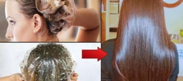 Βάζει κανέλα μέλι και ελαιόλαδο σε 1 μπολ και το ρίχνει στα μαλλιά της! Αν δείτε το αποτέλεσμα θα ψάχνετε τα υλικά!