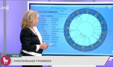 Συγκινήσεις και εξαπατήσεις για αυτά τα ζώδια: Αστρολογικές προβλέψεις από τη Λίτσα Πατέρα