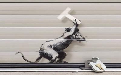 Banksy: Παίρνει θέση για το Brexit!