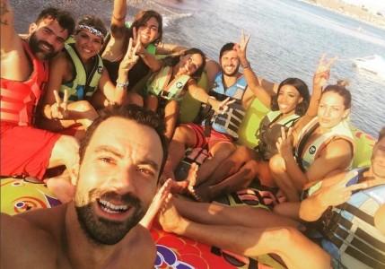 To φαντασμαγορικό World Party του... Survivor: Χαμός στα νησιά του Αιγαίου από Διάσημους και Μαχητές! Πλούσιο φωτορεπορτάζ!