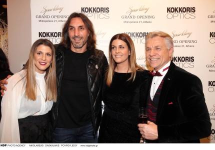 Sparkle opening party «KOKKORIS OPTICS» Στο κέντρο της Αθήνας