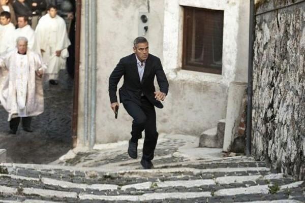 Ο Αμερικάνος, με τον George Clooney