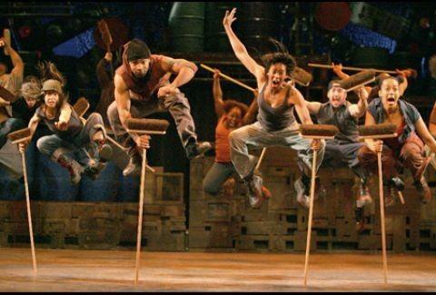 STOMP: Οι Βασιλιάδες του ρυθμού για λίγες εμφανίσεις στο Θέατρο Badminton