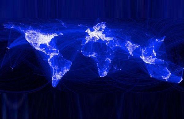 Ο παγκόσμιος χάρτης του Facebook!
