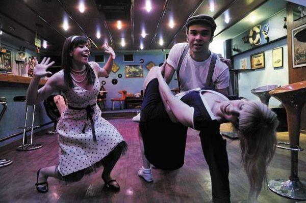 Οι Athens Swing Cats.. χορεύουν στο Swing στις 12/1