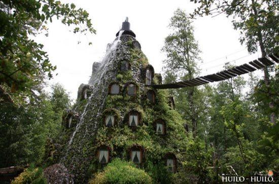 Ένα ξενοδοχείο πραγματικός καταρράκτης στην Χιλή!(PHOTOS)
