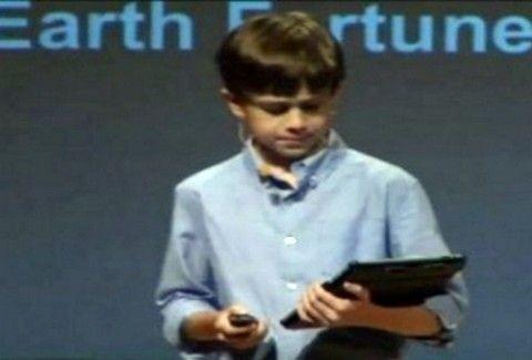 Είναι 11 χρονών και είναι ιδιοκτήτης εταιρίας εφαρμογών(VIDEO)