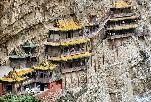 Ο πιο εντυπωσιακός ναός βρίσκεται στην Κίνα!!(PHOTOS)