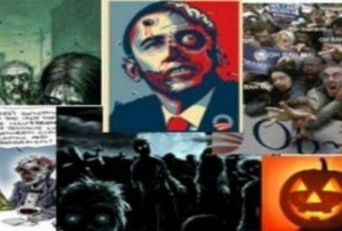 O Obama...ζόμπι!!(PHOTO)