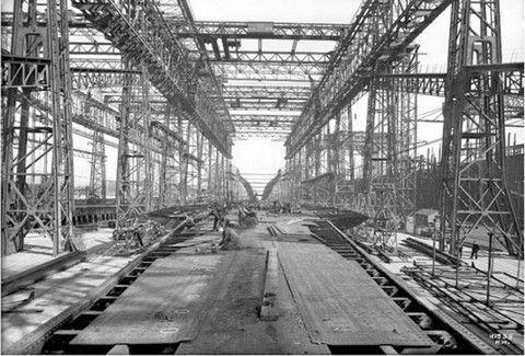 Δείτε φωτογραφίες από την κατασκευή του Τιτανικού!!(PHOTOS)