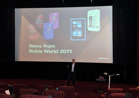 H Nokia παρουσιάζει τα πολυαναμενόμενα νέα της προϊόντα, στον απόηχο του Nokia World 2011