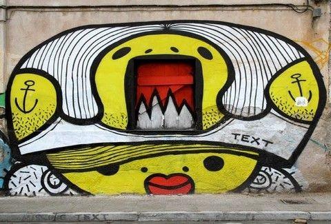 Τα πιο ξεχωριστά γκράφιτι στους δρόμους της Αθήνας!!(PHOTOS)