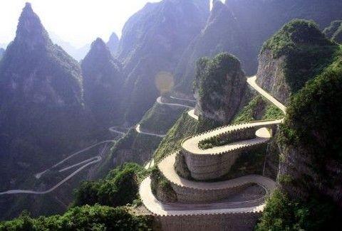 Ο πιο τρομακτικός και επικίνδυνος δρόμος στον κόσμο!!(PHOTOS)