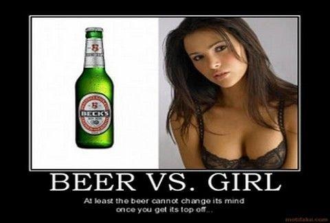 87 λόγοι για να επιλέξεις μία μπύρα από μία γυναίκα!!!