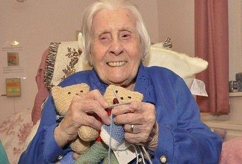 Της είπαν ότι θα ζήσει 12 ώρες και τελικά έφτασε τα 105!!!