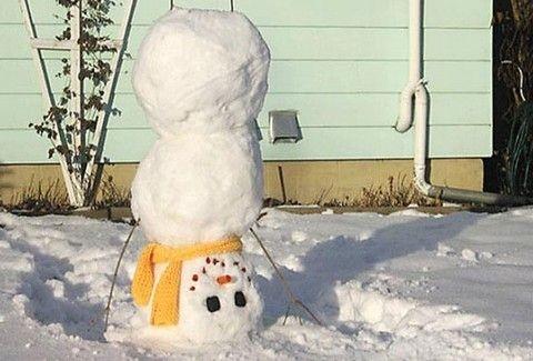 Κάτι δεν πάει καλά με αυτούς τους χιονάνθρωπους!!(PHOTOS)