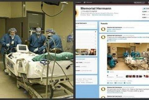 Νοσοκομείο μετέδωσε live εγχείρηση μέσω twitter! Δείτε PHOTOS!