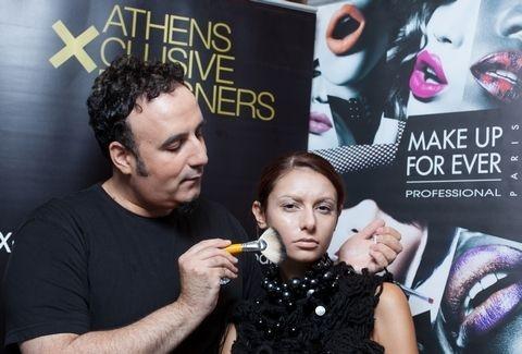 Make Up For Ever: Στον πυρετό της πρόβας μακιγιάζ για την AXDW από τη Sephora