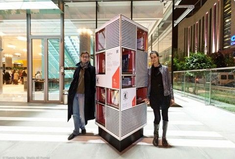 Mια πρωτότυπη Ανταλλακτική Βιβλιοθήκη εγκαινιάστηκε στη Στέγη Γραμμάτων & Τεχνών!