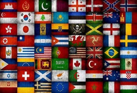 Ποιο είναι το κρυφό νόημα πίσω από τη σημαία της κάθε χώρας;;;