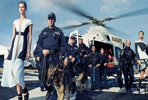 Δείτε τη φωτογράφηση της Vogue για τον τυφώνα Σάντι που προκάλεσε την οργή των Αμερικανών!!! (PHOTOS)