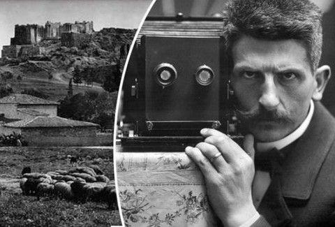 Φρεντ Μπουασόνα: Αυτός είναι ο άντρας που φωτογράφιζε την Ελλάδα όταν η Ακρόπολη είχε ακόμη... πρόβατα!!!