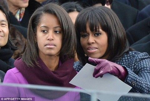 Οι σικάτες εμφανίσεις των αδελφών Obama που προκαλούν τα media!!! (PHOTOS)