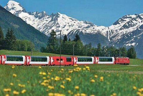 Ποια είναι η ωραιότερη διαδρομή με τρένο στην Ευρώπη;;; (PHOTOS)