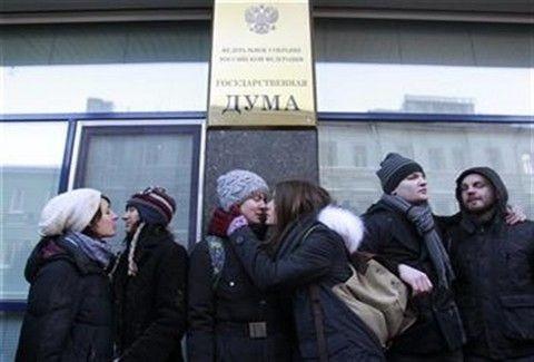 Ρωσία: Ετοιμάζουν νομοσχέδιο κατά της ομοφυλοφιλικής προπαγάνδας!!!