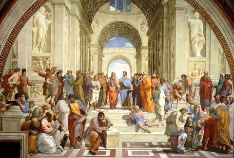 Aποκρυπτογραφήσαμε τη Σχολή των Αθηνών του Ραφαήλ. Ποια πρόσωπα απεικονίζονται στην αινιγματική τοιχογραφία του Βατικανού;