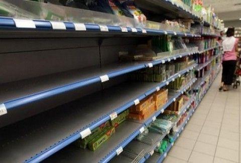 ΣΕ ΣΥΝΘΗΚΕΣ ΠΟΛΕΜΟΥ Η ΚΥΠΡΟΣ!!! Έχουν αδειάσει τα ράφια με την ξηρά τροφή από τα super market!!!