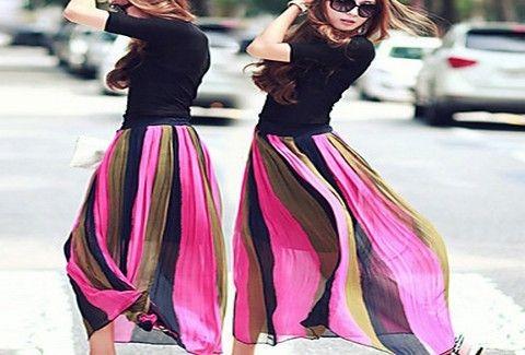Χρωματιστές ρίγες...Η νέα τάση της μόδας που ΠΡΕΠΕΙ να ακολουθήσεις!!! Δες γιατί...(PHOTOS)