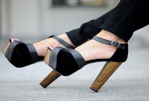 Η νέα τάση της μόδας στα τακούνια λέει:
