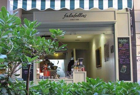 Falafellas: Φαλάφελ... απ' τον τόπο σου, στο κέντρο της Αθήνας!