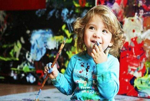 Ήξερες ότι τα παιδιά δείχνουν προτίμηση σε συγκεκριμένα χρώματα;;;