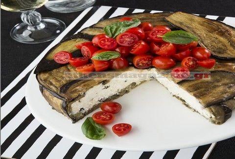 Τυρόπιτα με φύλλο μελιτζάνας!