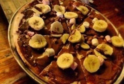 Γίνεται γλυκια πίτσα;;; Κι όμως! Φτιάξτε λαχταριστή γλυκιά πίτσα σοκολάτας!
