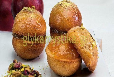 Στρογγυλά κεκάκια μήλου