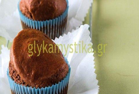 Μάφιν σοκολάτας χωρίς ζάχαρη