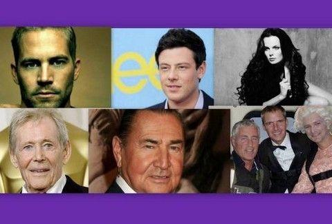 Αυτοί είναι οι διάσημοι που άφησαν την τελευταία τους πνοή μέσα στο 2013!!!