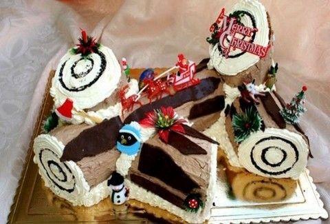 Φτιάξτε εύκολους και λαχταριστούς χριστουγεννιάτικους κορμούς!!! (PHOTOS)