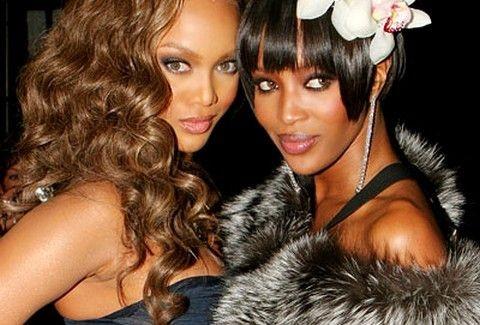 Tyra Banks vs Naomi Campbel: Μια κόντρα .... αλα Top Model!!! (PHOTOS)