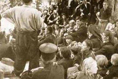 Το μπλόκο της Καλογρέζας: 22 Έλληνες παλικάρια ΕΚΤΕΛΟΥΝΤΑΙ από τα τάγματα ασφαλείας! (PHOTOS)